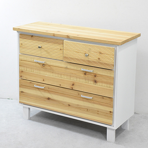 Fresh Finish Wood Storage Furniture Medium Chest