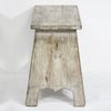 Farmhouse Rustic Wooden Stool
