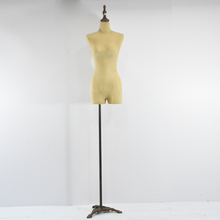 Vintage Female Half-Leg Dress Form Mannequin
