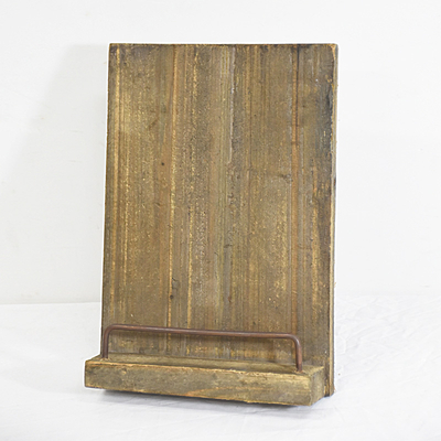 Rustic Farmhouse Style reclaimed Wood Magazine Holder