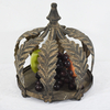 High Quality Shabby Chic Crown Shaped Metal Tealight Candle Holder