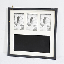 Decorative Multi Wooden Picture Photo Frame with Blackboard Decor