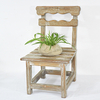 Shabby Chic Vintage Rustic Samll Wooden Chair