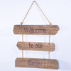 Shabby Chic Rustic Garden Rules Wooden Hanging Sign