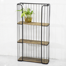 Classic Industrial Furniture Look 4 Shelf Bookcase