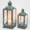 Exquisite Antique Metal Decorative Lantern for Candle
