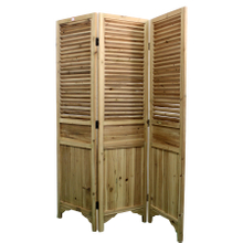 Luckywind Decorative Panels Solid Wooden Paravent Room Divider Vintage